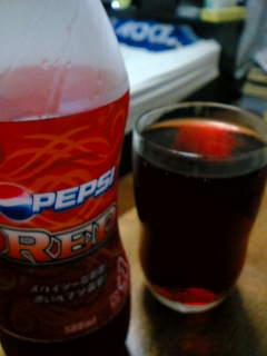 【写真】びっくりするくらい赤い飲料「ペプシレッド」