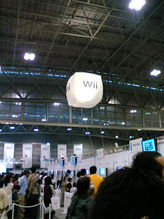 【写真】Wii体験会 会場風景