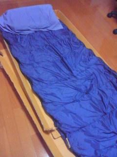 【写真】今夜の寝床