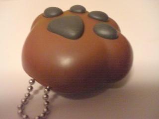 【写真】軍用わんこの肉球玩具