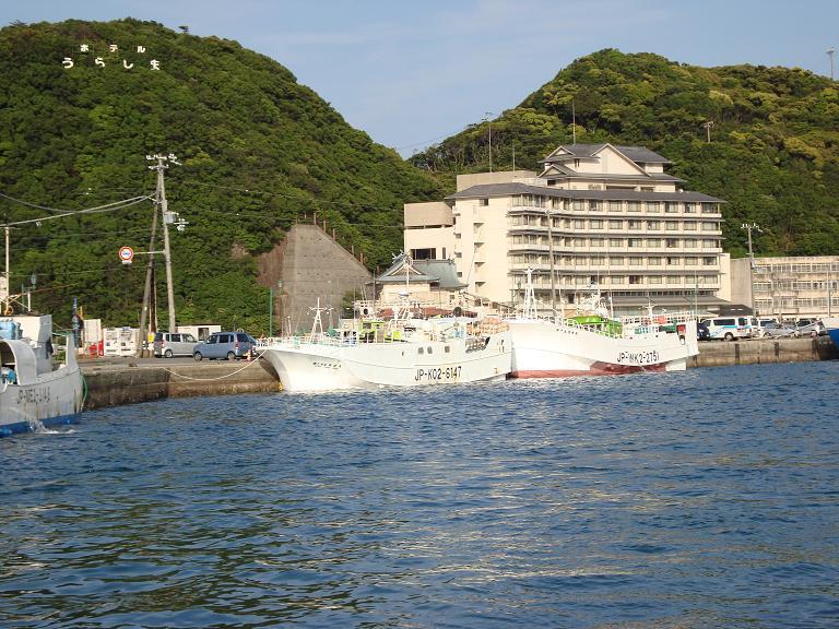 【写真】ホテル浦島 本館全景
