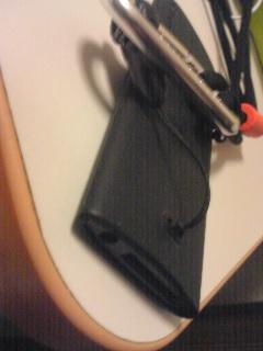 【写真】iPod nanoにネックストラップを付けた