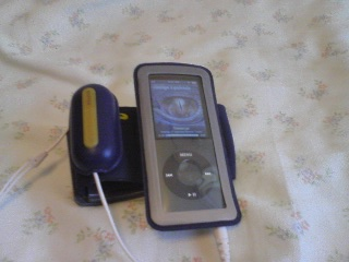 【写真】内容物3点をiPod nanoに装着