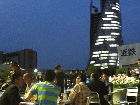 【写真】名鉄百貨店屋上から見た夜景