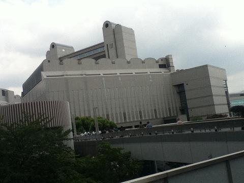 【写真】外から見た名古屋国際会議場