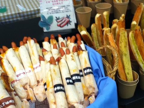 【写真】ビアフェス名古屋2011のフードコーナー