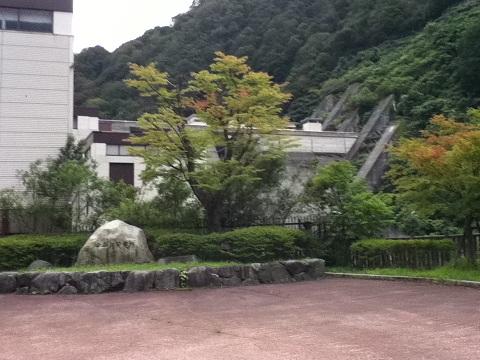 【写真】宇奈月ダム遠景