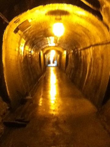 【写真】トンネル内部