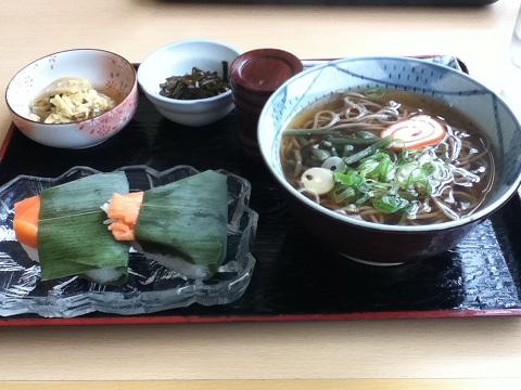 【写真】ます寿司定食
