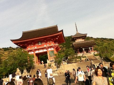 【写真】清水寺の入口
