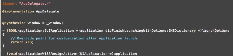 【スクリーンショット】Desert 256を適用したXcode 4