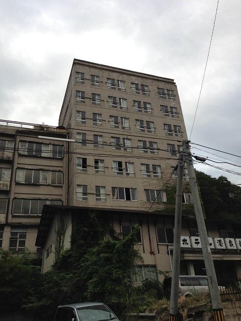 【写真】廃業したホテル