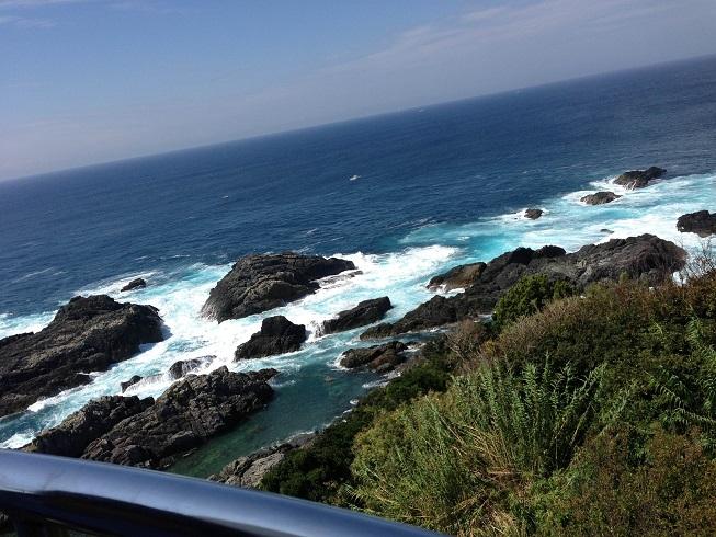 【写真】潮岬灯台からの眺め