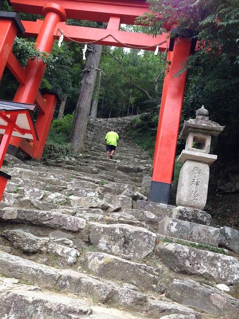 【写真】神倉神社の石段