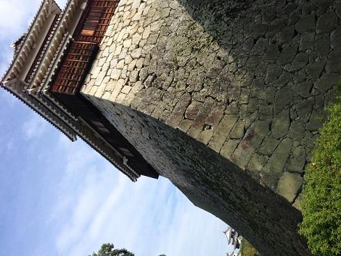 【写真】松山城の石垣