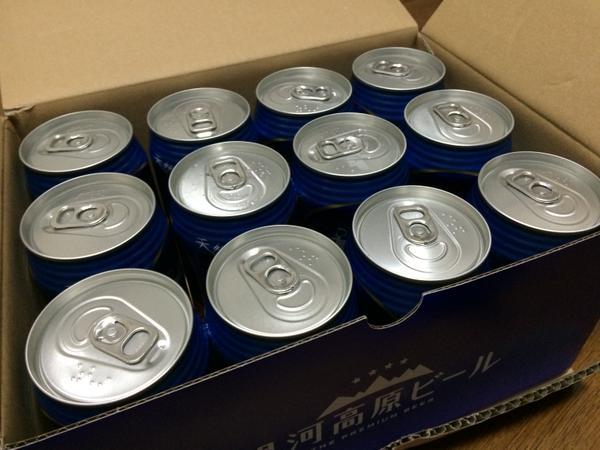 【写真】優待で届いたビール