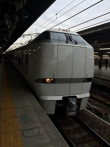 【写真】名古屋駅から乗る特急しらさぎ