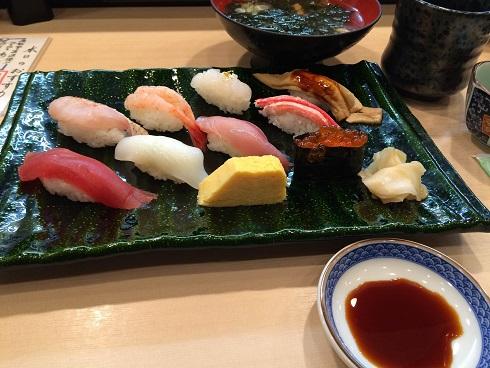 【写真】金沢まいもん寿司のランチセット