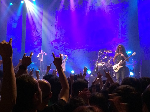 【写真】Sonata Arcticaライブ終了後