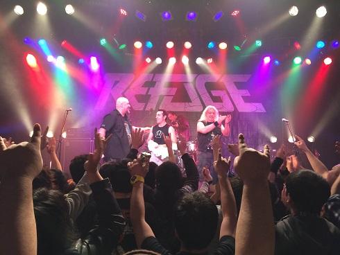 【写真】Refugeライブ終了後の様子