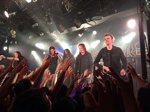 【写真】ライブ終了後のメンバー挨拶