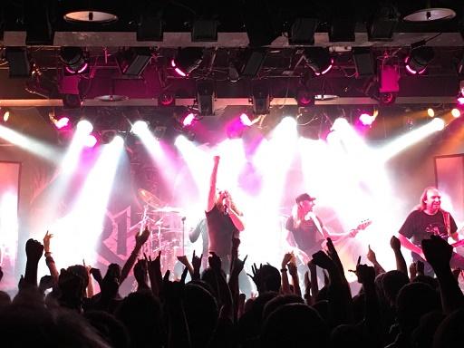 【写真】Rhapsodyのステージ