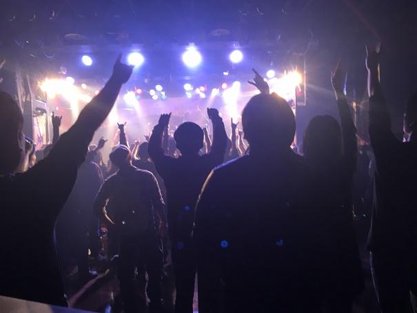【写真】Rageの公演終了時の客席