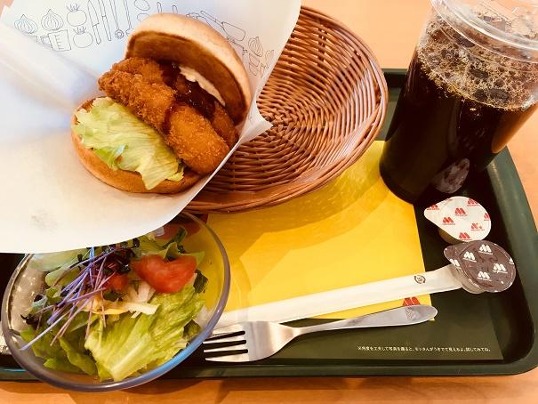 【写真】名古屋海老フライバーガー