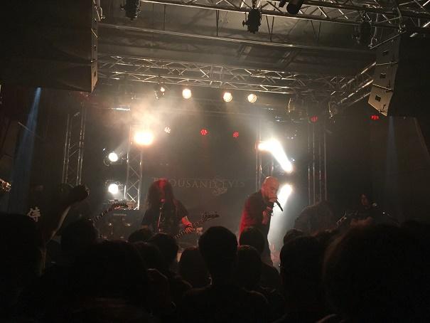 【写真】Thousand Eyesのステージ