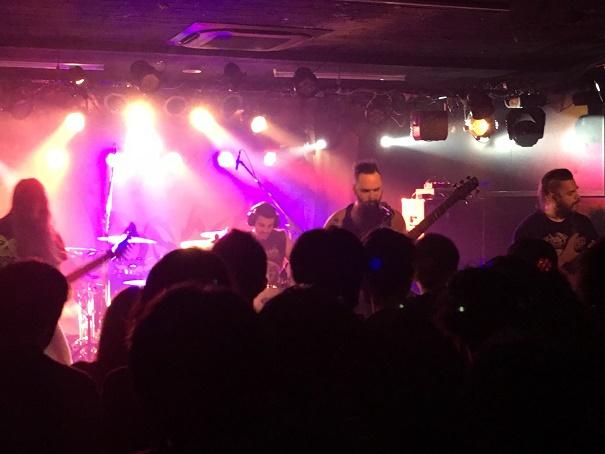 【写真】Xaonのステージ