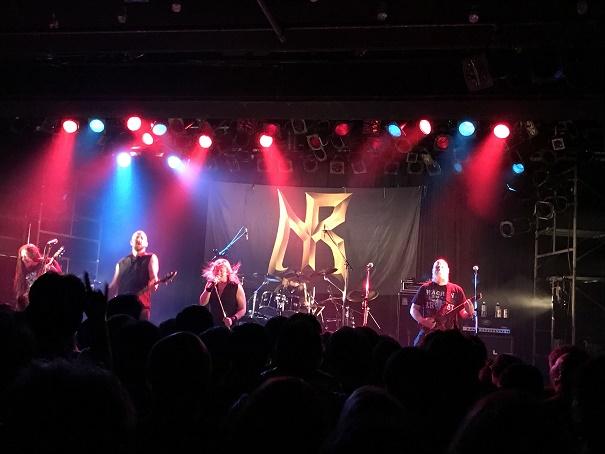【写真】Nocturnal Ritesのステージ