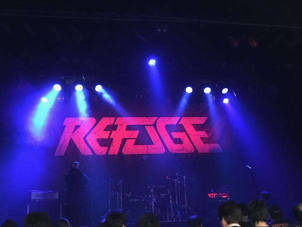 【写真】Rafegeのステージ