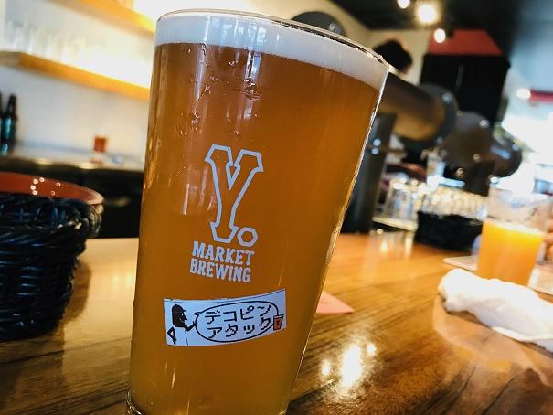 【写真】Y.MARKET のビール