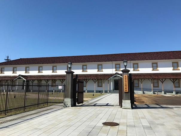 【写真】白壁兵舎広報史料館