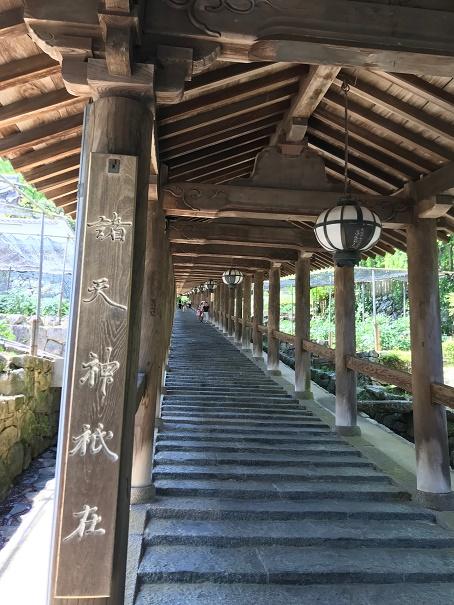 【写真】長谷寺の登廊