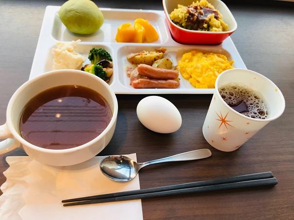 【写真】コンフォートホテルの朝食