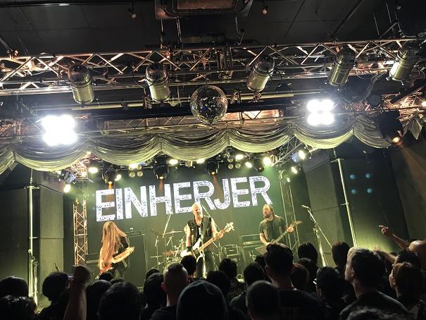 【写真】Einherjerのステージ