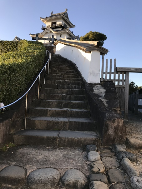 【写真】掛川城の登場路