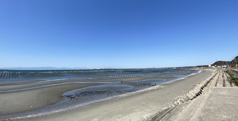 【写真】伊勢湾を望む